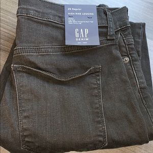 New with tags GAP High Rise Legging size 29